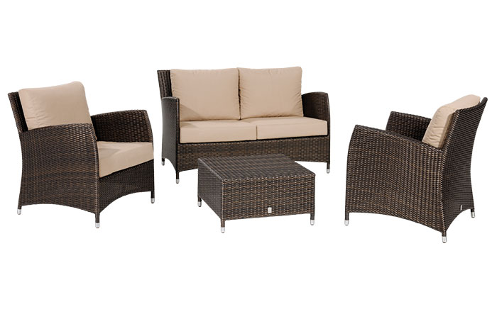 lounge m bel aus rattan unempfindlich und strapazierf hig. Black Bedroom Furniture Sets. Home Design Ideas